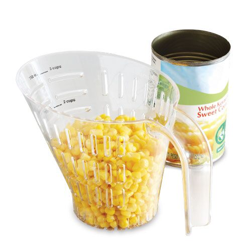 Easy-Read Measuring Colander