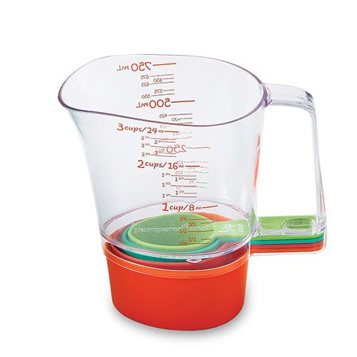 Kids' Stackable Measuring Cup Set