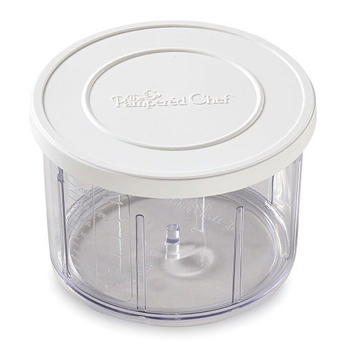 Manual Food Processor Storage Lid & Bowl Set