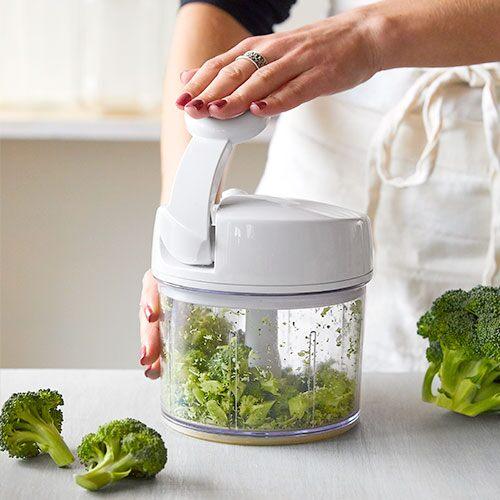 pampered chef manual food processor video