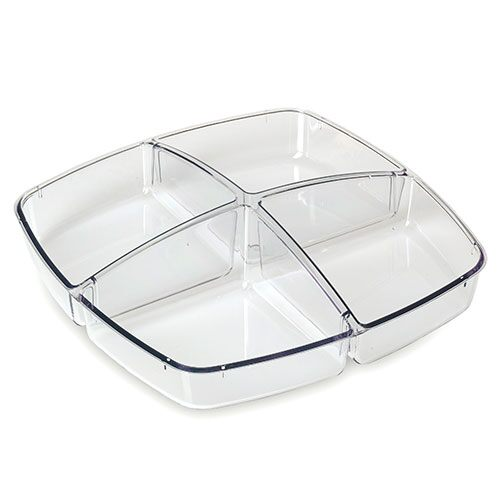 4-Section Tray