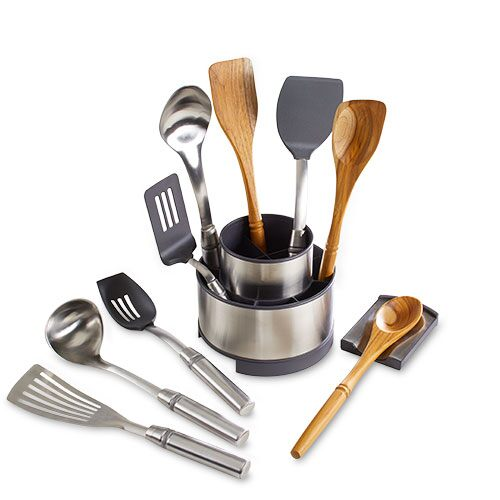 Cookware Tool & Utensil Holder Set