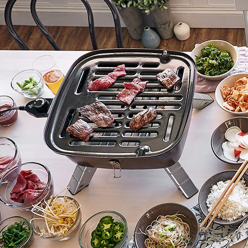 Indoor Outdoor Portable Grill - Shop | Pampered Chef US Site