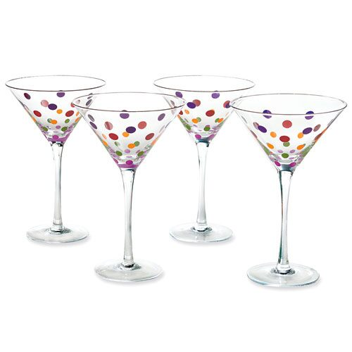 Dot's Martini Glass (set of 4)