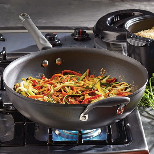 Executive Nonstick Stir-Fry Skillet