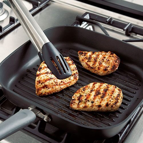 Executive Nonstick Square Grill Pan Shop Pampered Chef