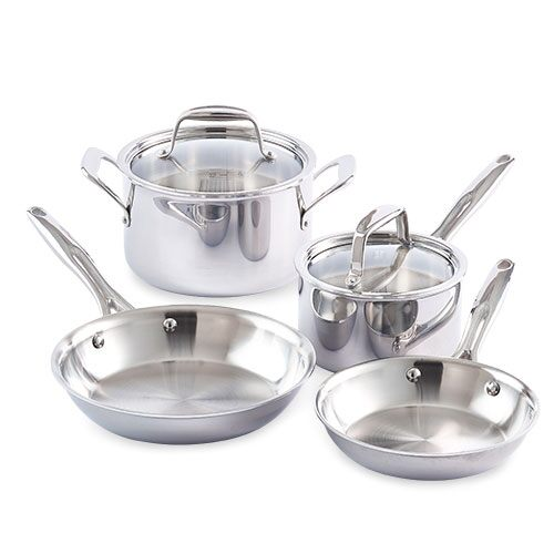 Stainless Steel 6-Piece Set