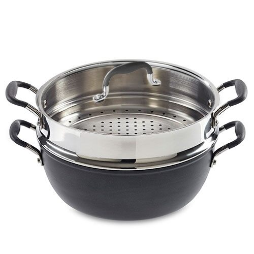 All Purpose Pot Amp Steamer Set Shop Pampered Chef