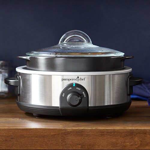 Pampered Chef Rockcrok 2.5 Qt Everyday Pan