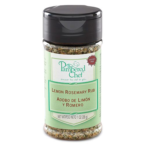Lemon Rosemary Rub