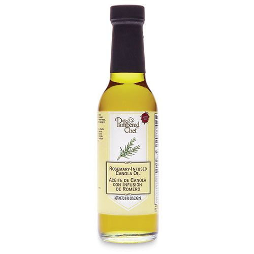 Rosemary-Infused Canola Oil