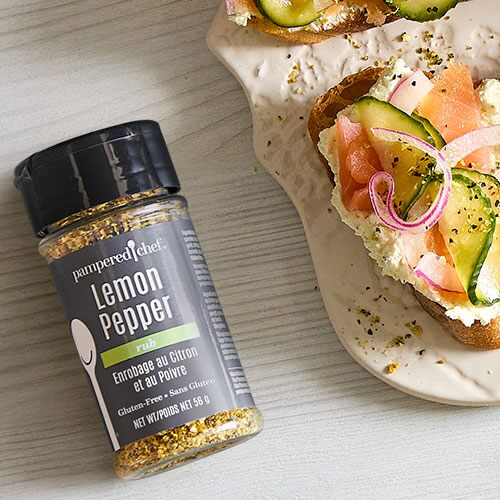 Lemon Rosemary Rub - Shop | Pampered Chef US Site