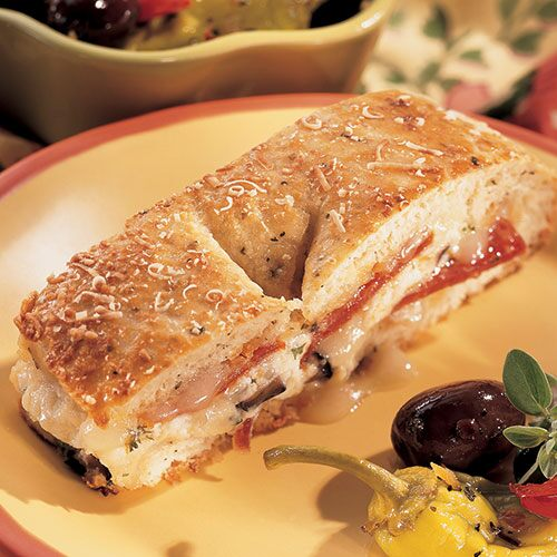 Family-Style Calzone