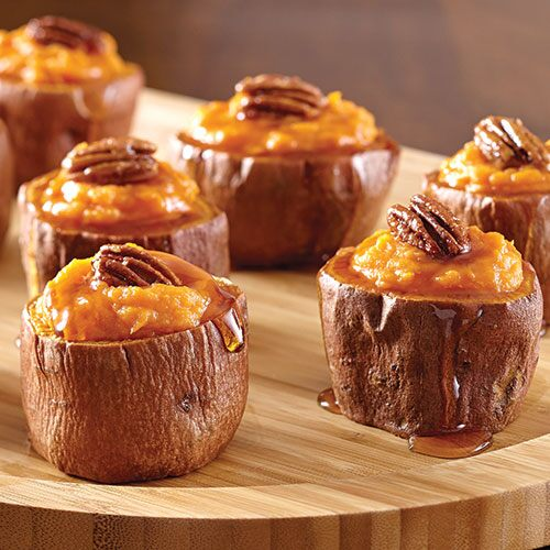 Stuffed Sweet Potato Cups