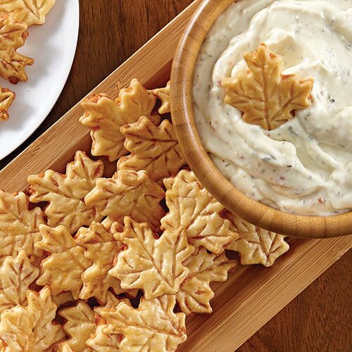 Pie Crust Chips & Classic Party Dip