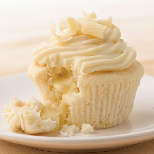 White Chocolate Cupcakes With Truffle Filling Recipes