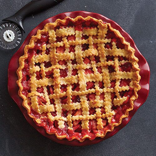 Criss-Cross Lattice Pie Crust