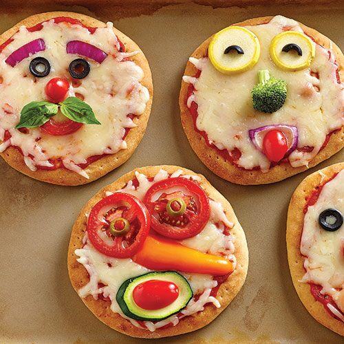 Funny Face Pizza For Kids - Recipes