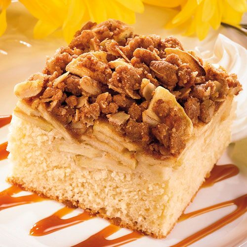 Apple Crisp Cake Recipes Pampered Chef Us Site