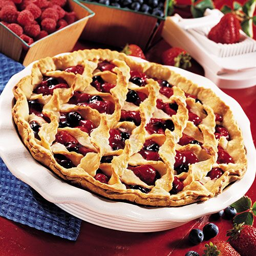 Triple Berry Cherry Pie