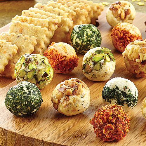 Cheese Ball Appetizers - Recipes