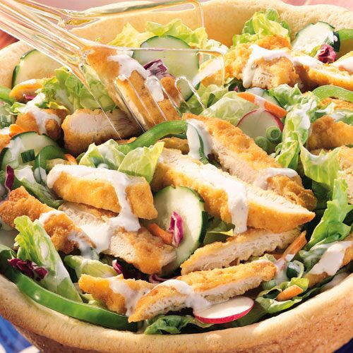 pampered chef asian chicken salad