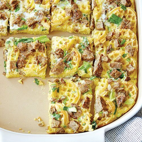 Chicken & Waffle Brunch Bake - Recipes | Pampered Chef US Site