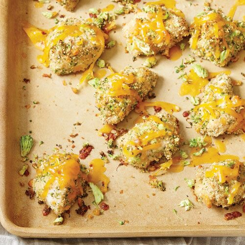 Broccoli Cheddar Chicken Nuggets Recipes Pampered Chef Us Site