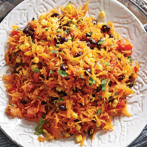 "Mexican Sweet Potato ""Rice"""