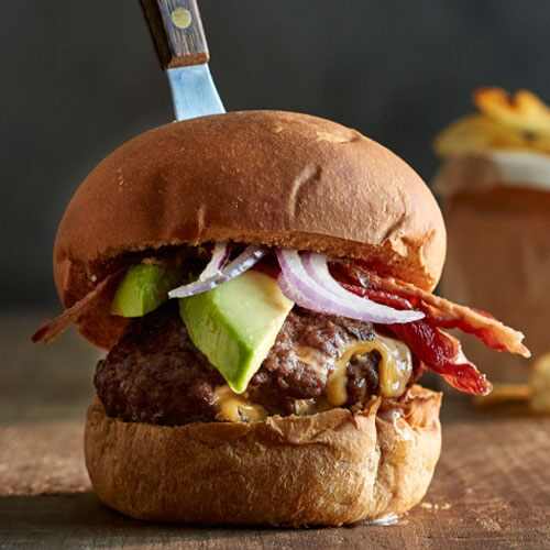 Juicy Lucy Stuffed Burgers