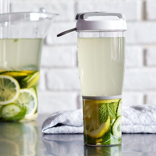 Lemon Ginger Cucumber Mint Water