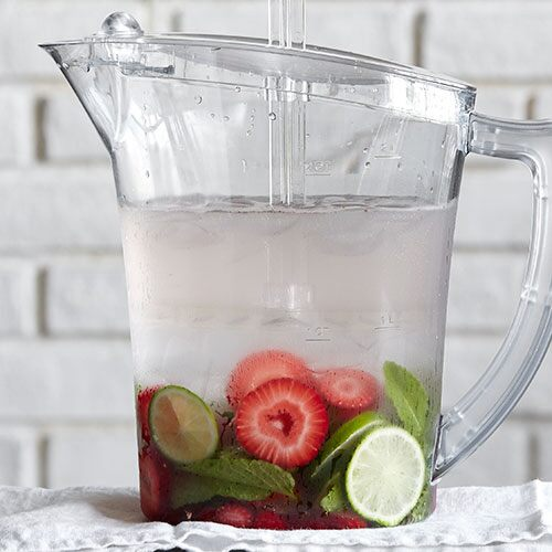 Strawberry lime water recipes pampered chef us site forumfinder Images