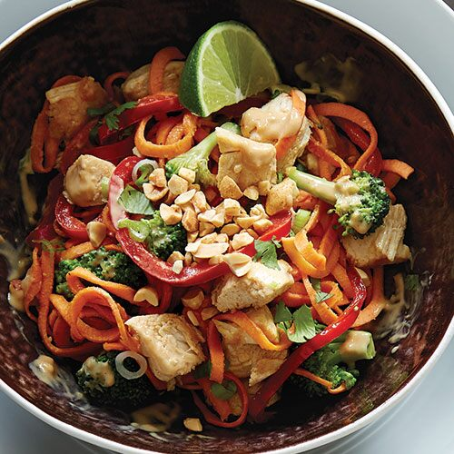 Chicken  Sweet Potato Pad ThaiRecipes Pampered Chef US Site