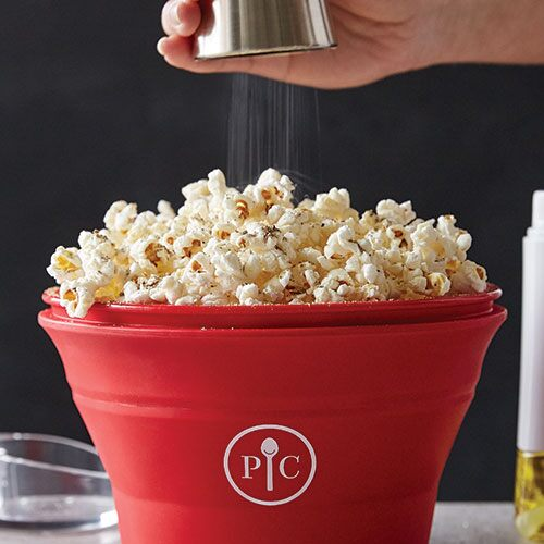 Play Homemade Microwave Popcorn Video