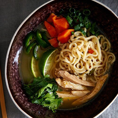 Asian Chicken Ramen Soup