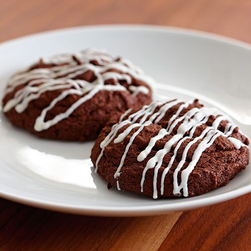 Chocolate Zebra Cookies