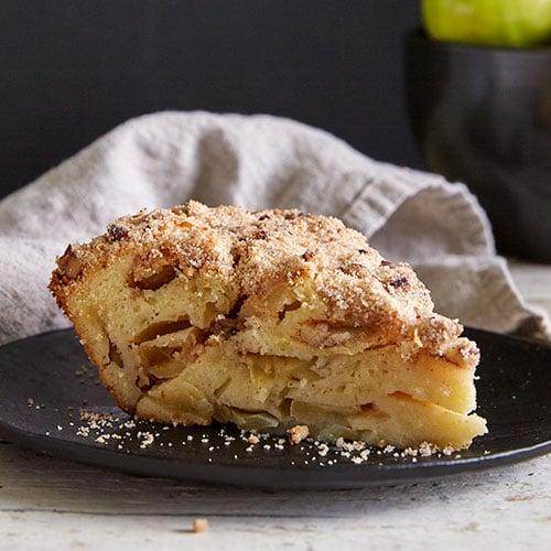 Old Lucky Leaf Apple Spice Cake