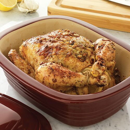 Easy Oven-Roasted Chicken