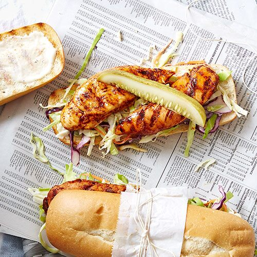 Nashville Hot Chicken Hoagies Recipes Pampered Chef Us Site