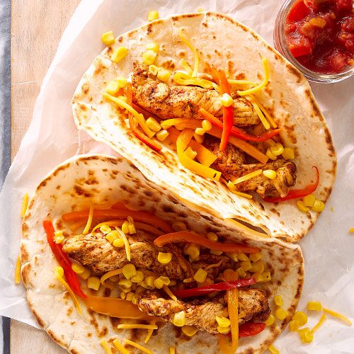 Kids' Quick & Easy Fajitas