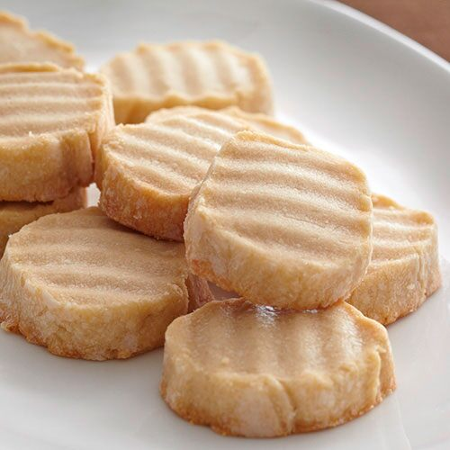 Simple Shortbread Buttons
