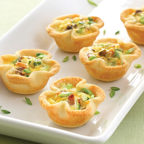 Savory Vegetable Mini Quiches Recipes Pampered Chef Us Site