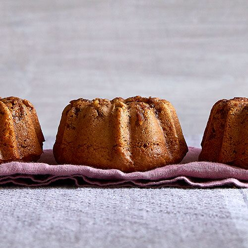 Mini Pear Apple Spice Bundt Cakes