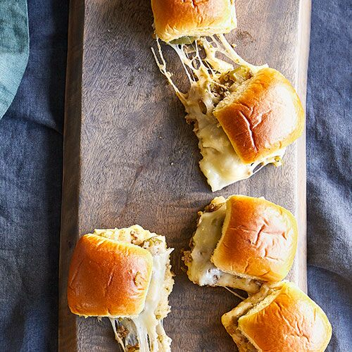 Philly Cheesesteak Sliders