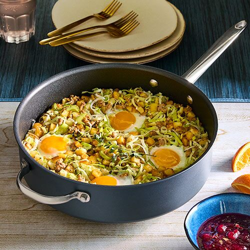One-Pan Turkey Hash