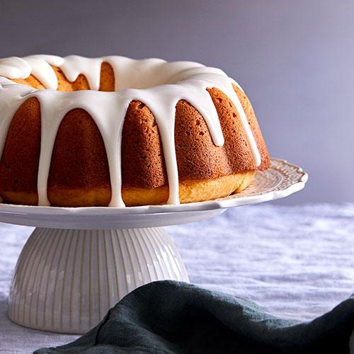 Classic Vanilla Bundt Cake - Recipes