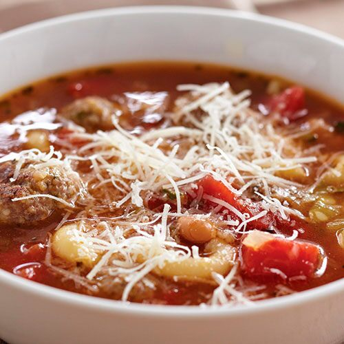 Meatball 'N Pasta Soup