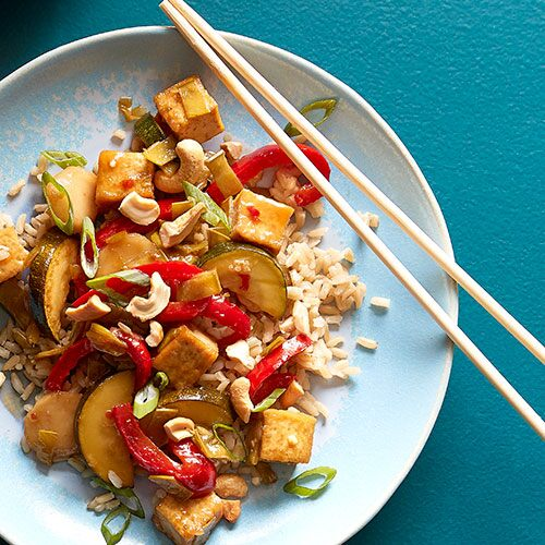 Orange-Ginger Tofu Stir-Fry
