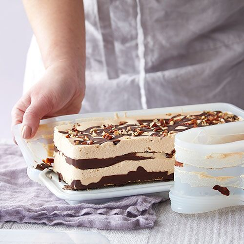 No-Bake Turtle Icebox Cake