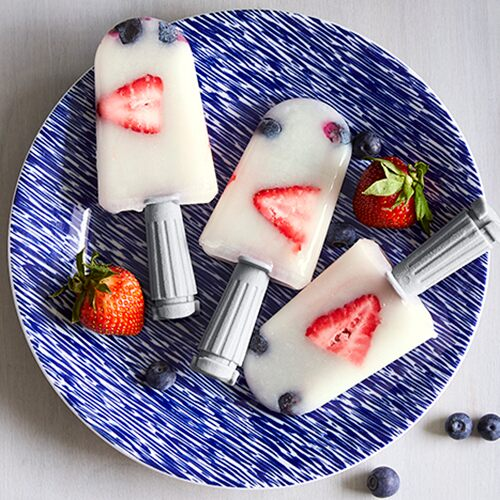 Berry Lemonade Quicksicles
